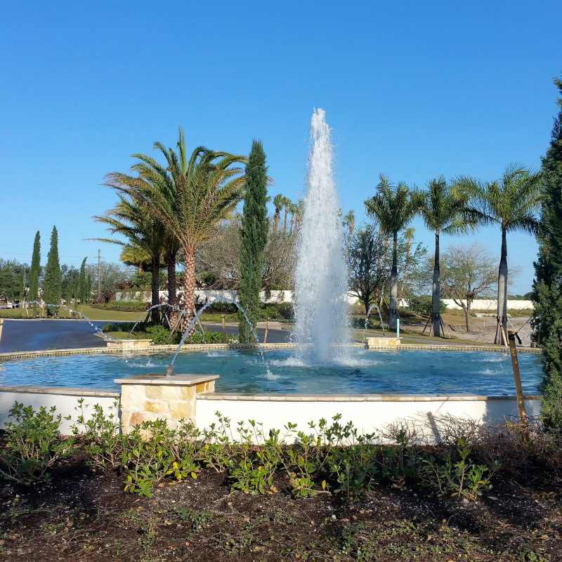 Toscanna Roundabout Constructed By Elite Commercial Pools
