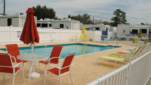 SUNNY SOUTH RV PARK - AMENITY POOL