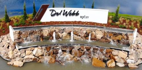 DEL WEBB BEXLEY ENTRY FOUNTAIN